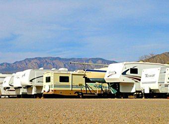 Echo Lodge Resort RV Storage